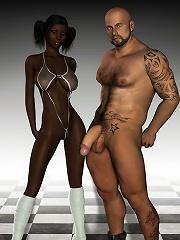 Unfortunate 3D Honey poses...