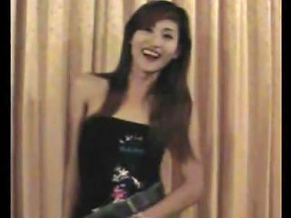 Smoking Thai T Girl Plays With Her Dick While Giving Blowjob
