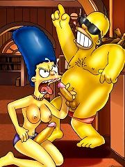 Simpsons futanari sex frenzy hitting Springfield