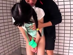Japanese Young Girl 147cm Gets Anal Fucking