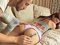 Teen Redhead Anally Gaped By The Man With A Big Dick