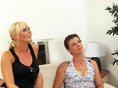 Mature Short Haired Lady Is Ready For Yet Another Rough Penetration