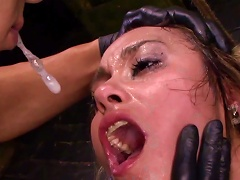 Filthy Bdsm Show With Nasty Marina Angel