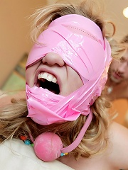 Teen Nasty is convinced by her boyfriend to get into bondage...fuck that is shameful!