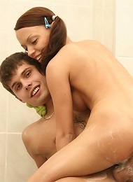 Cute Girl Does Her Boyfriend Teen Porn Pix