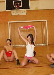 Lesbian Sports Team Teen Porn Pix