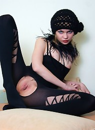 Stockings Teen With Hole At The Kooch Teen Porn Pix