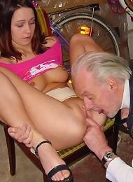 Horny Grandpa Fucks A Teenie Girl Teen Porn Pix