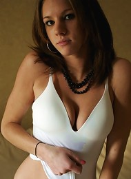 Stunning Brunette With Perky Tits In These Nonnude Pictures Teen Porn Pix