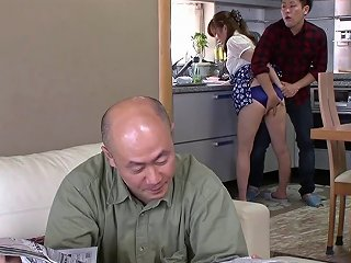 BravoTube Video - Horny Asian Housewife Gets Fucked While Hubby Is In The Next Room