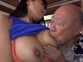 XBabe Video - Young Japanese Babe With Nice Ass Rides An Older Dude's Dick