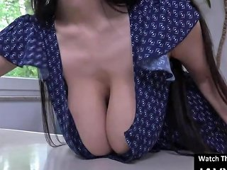 SpankWire Video - Hot Japanese Maid With Huge Tits
