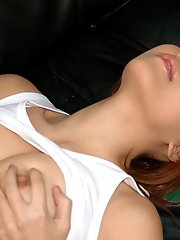 Kinky Asian slut likes garage fucking when the mood strikes her and her friend
