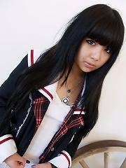 Cute california mixed asian girl juliette cosplay nudes