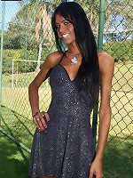 Kawanna is an extremely horny tranny from Sao Paulo. Shes a true exhibitionist, flashing the camera every chance she gets. Before long, shes naked and