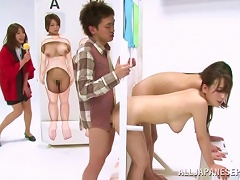 AnyPorn Video - Japanese Hotties Take Part In A Show And Get Fucked