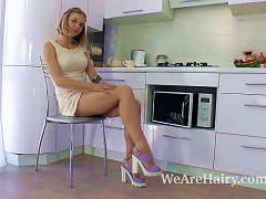 XHamster Video - Kristinka Undresses In The Kitchen And Plays Naked