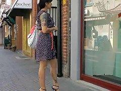 Window Shopping In Italian High Heel Sandals Free Porn 8d
