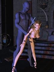 Cum crazy 3D Porncraft Girl grab Hentai Demonv
