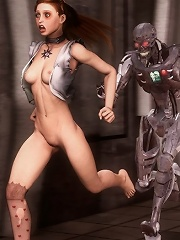 Hentai Alien first sex experience
