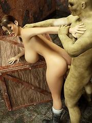 Passionate 3D Sorceress