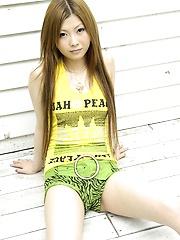Shiho Kanou Strips Down To Underwear